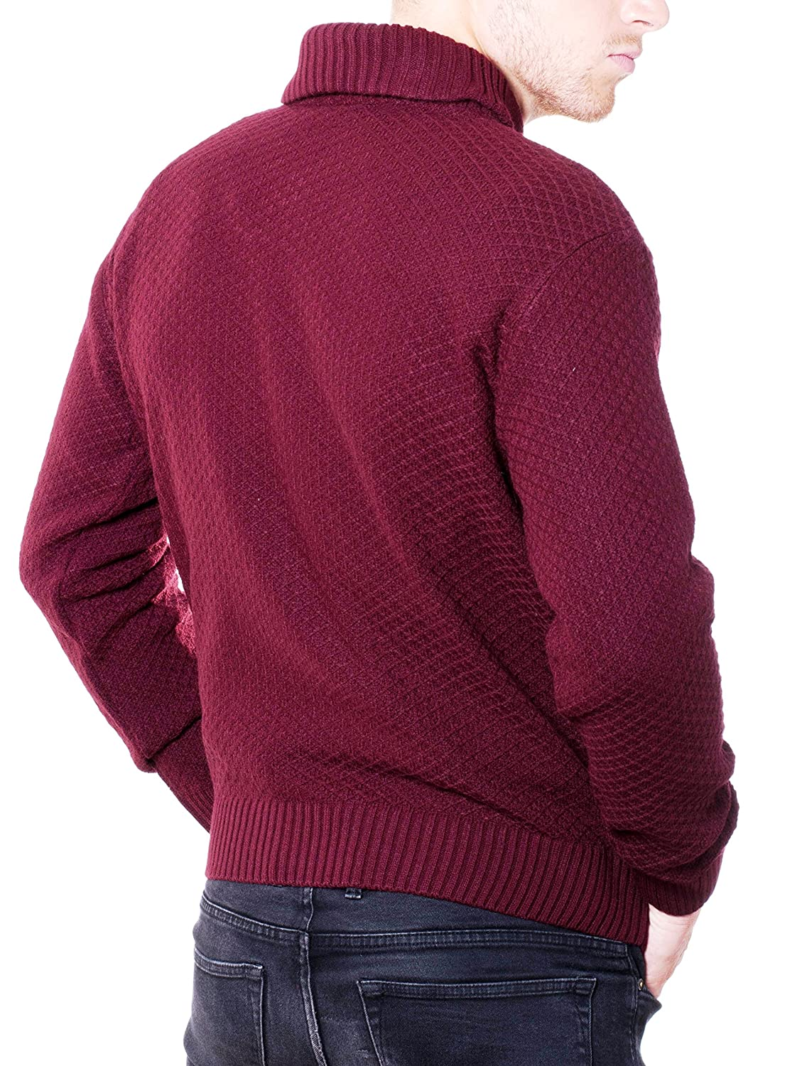 Dipuman Men's Long Sleeve Jumper multicolour multicoloured One size