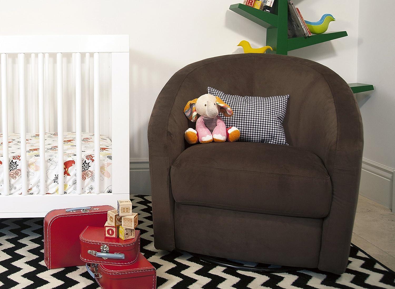 babyletto madison swivel glider  mocha amazoncouk baby -