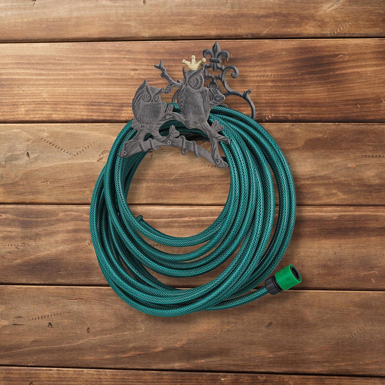 Pour la maison et le jardin Support pour enrouleur de tuyau Ettzlo Support mural pour tuyau deau