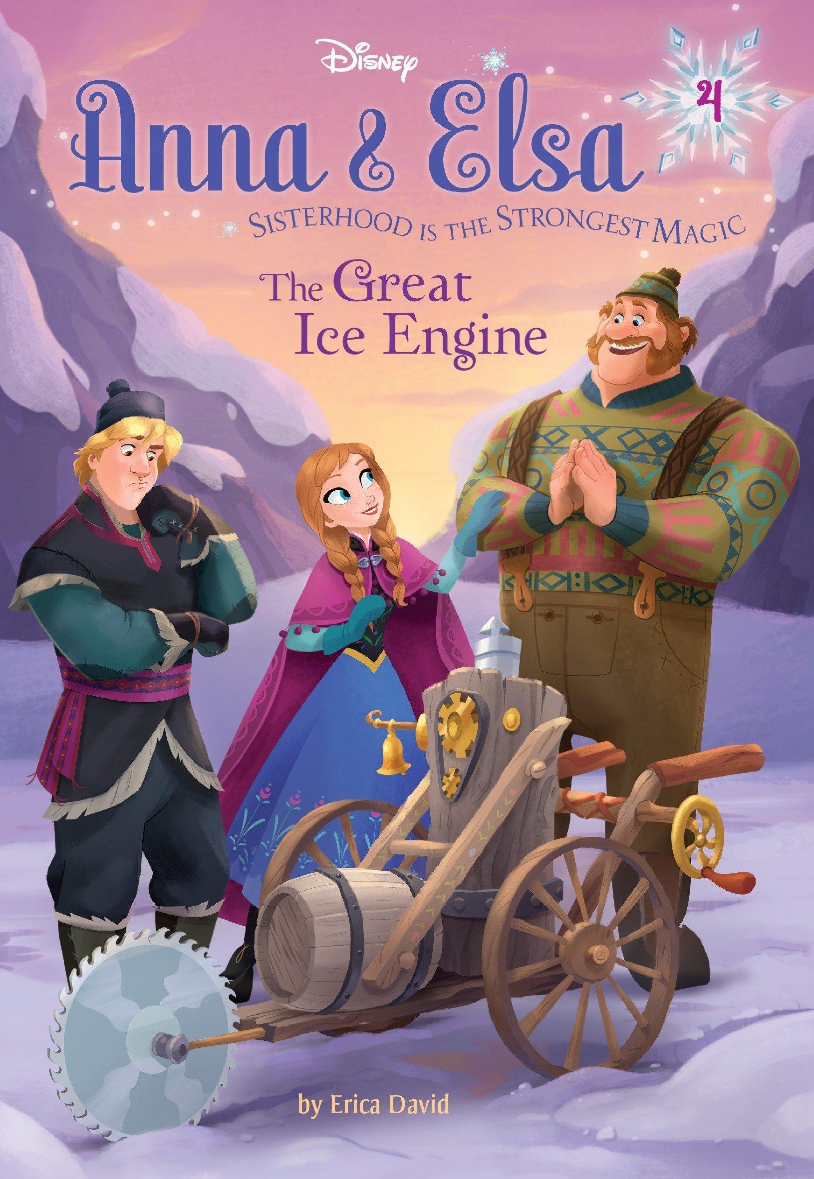 Anna & Elsa #4: The Great Ice Engine (Disney Frozen) (A Stepping Stone Book(TM)) pdf