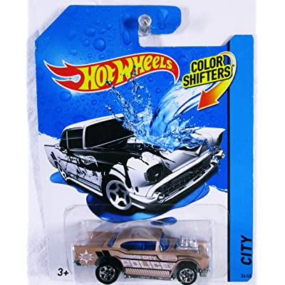 Hot Wheels Color Shifters '57 Chevy Vehicle: Toys & Games