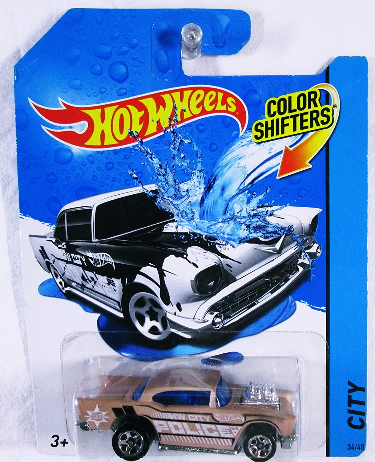 Amazon.com: Hot Wheels Color Shifters '57 Chevy Vehicle: Toys & Games