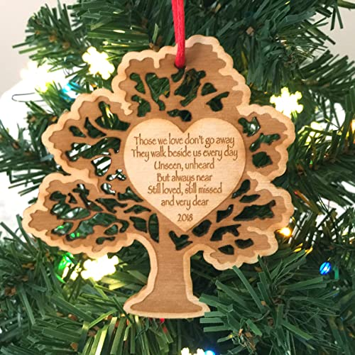in memoriam of a loved one christmas ornament 2018