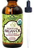 Argan Oil ★ USDA Certified Organic ★ Brand New ! ★ The Highest Quality Guaranteed ★100% Pure & Natural ★ Cold Pressed Virgin ★ Unrefined Moroccan Argan Oil ★ Rich in essential fatty acids, Vitamin E & antioxidant ★ Quick absorption rate ★ Ideal for dry, damaged and wrinkled skin ★ Improve skin elasticity and supports cell regeneration ★ For Dry Skin, Hair, Face, Stretch Marks, Fine Lines, Eczema, Acne Scars, & More! ★ Anti inflammatory ★ Amber Glass Bottle and Glass Eye Dropper for Easy Application ★ Brand New ! ★ by US Organic - Nature for Nature