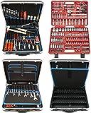 Famex 619-09 - Maletín de herramientas de alta calidad (plástico duro ABS, 32 L, 173 piezas)