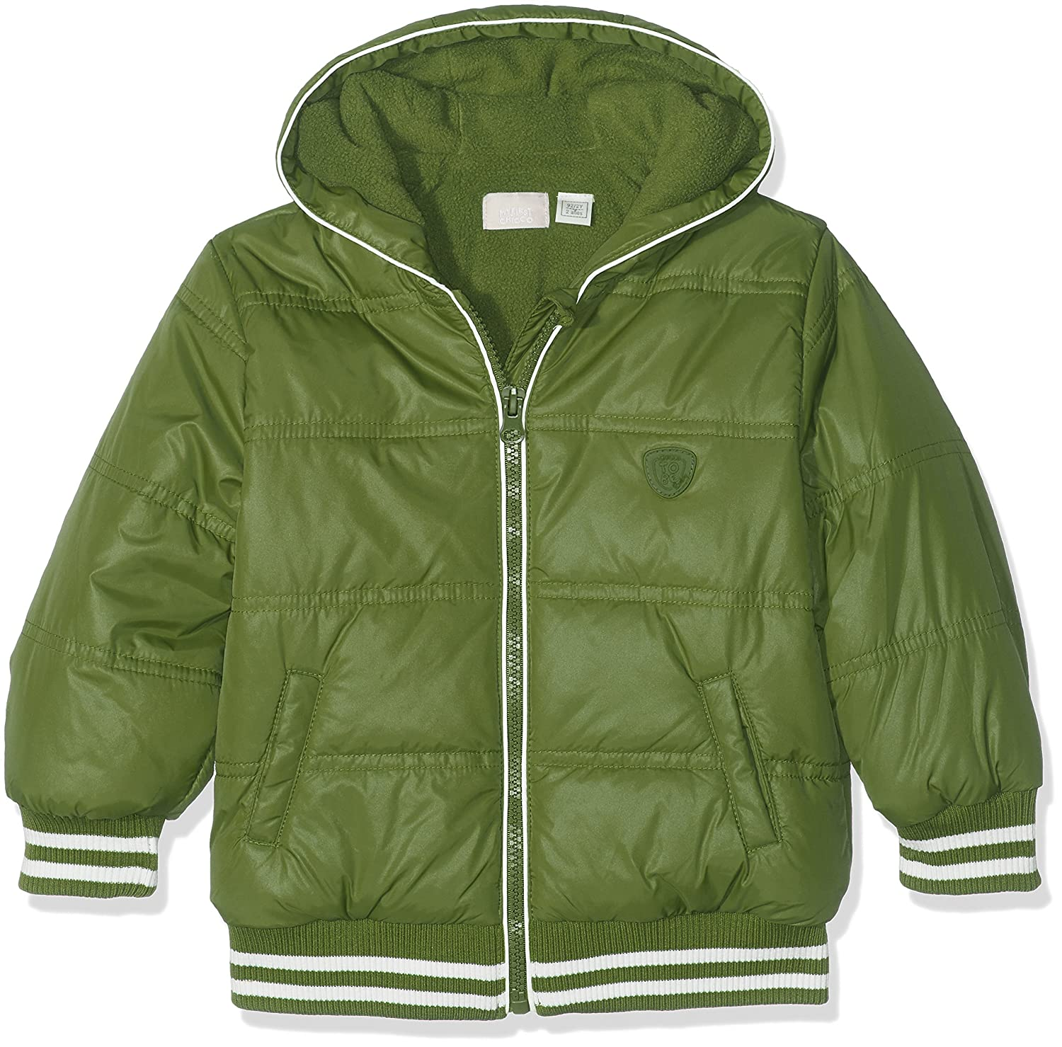 Chicco Baby Boys' Sports Jacket Green (Verde Scuro) (Size: 068) 9087214000000