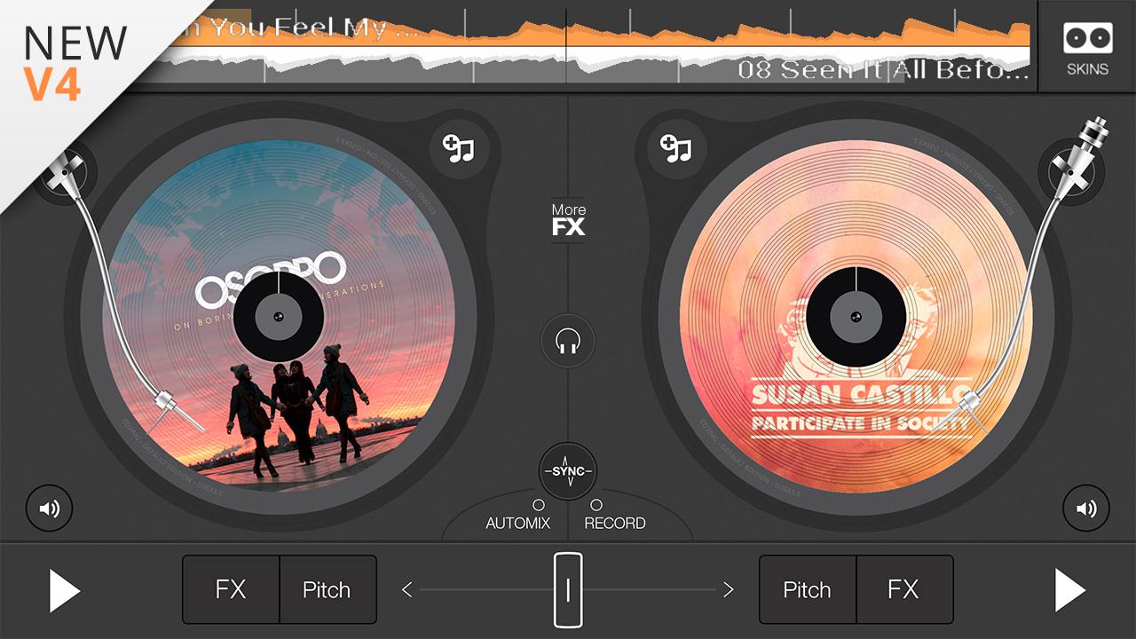 edjing free dj mix rec studio appstore for android. Black Bedroom Furniture Sets. Home Design Ideas