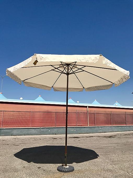 80148 Ombrellone da 3 m Tondo Giardino Bar Terrazzo Mare Piscina ...