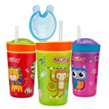 Amazon Price History for:Nuby 1pk Snack N' Sip 2 in 1 Snack and Drink Cup - Colors May Vary