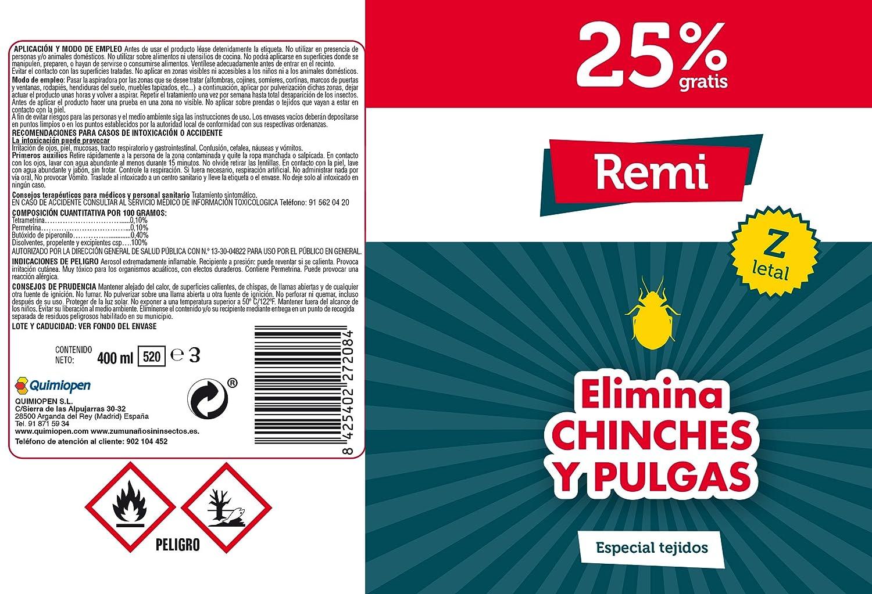 Spray Anti Chinches y pulgas Insecticida Chinches | Veneno chinches pulgas | Aerosol Chinches | Repelente Especial Tejidos