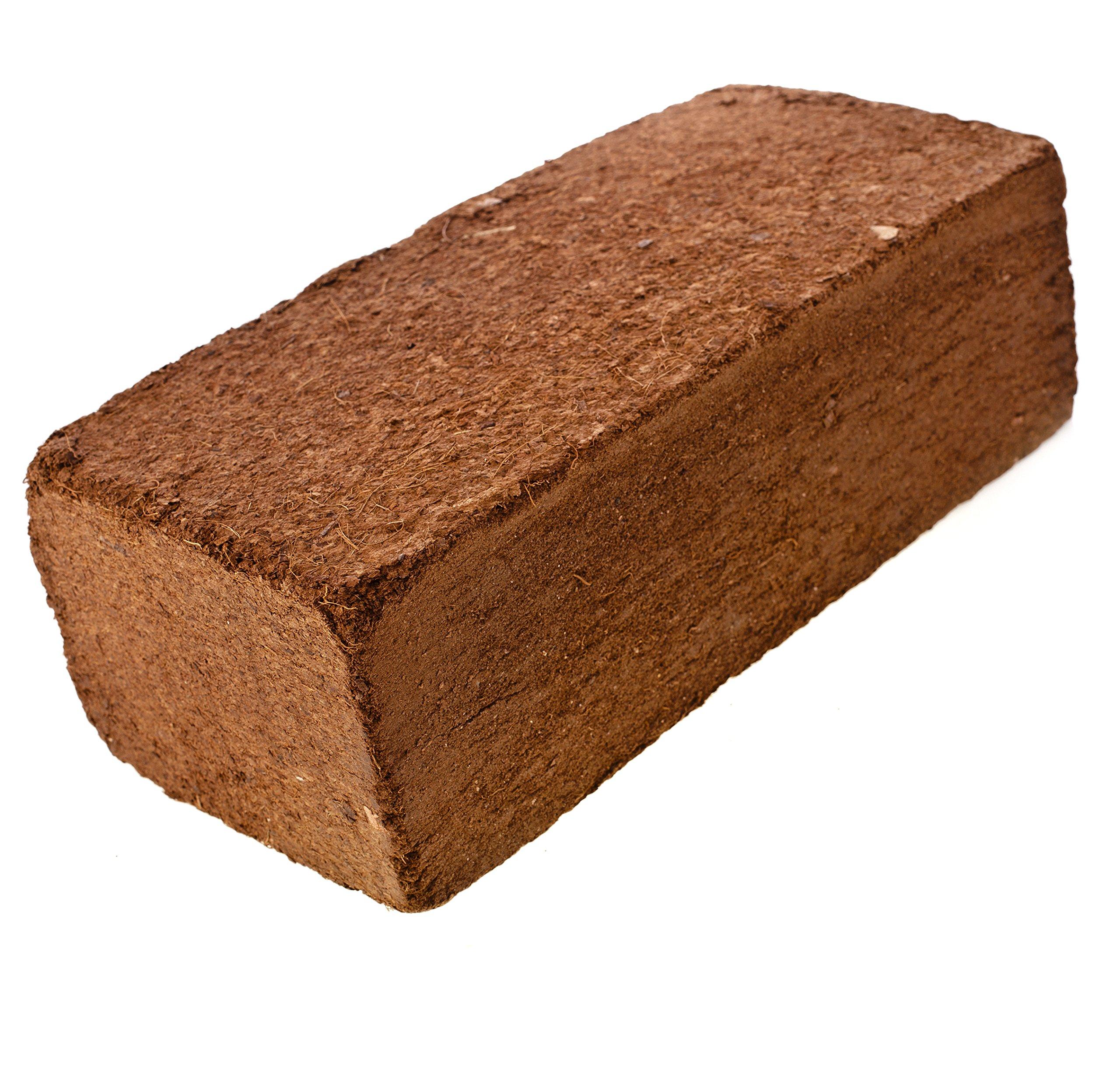 Coco Coir Brick, OMRI listed for Organic Use (50)