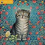 Ivory Cats - Lesley Anne Ivorys Katzen 2020: Original Flame Tree Publishing-Kalender [Kalender]