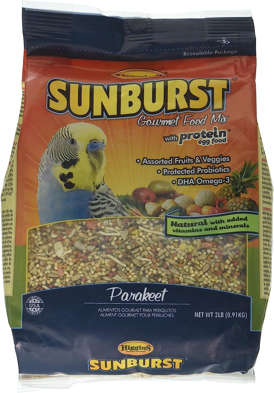 Higgins Sunburst Gourmet Food Mix Parakeets