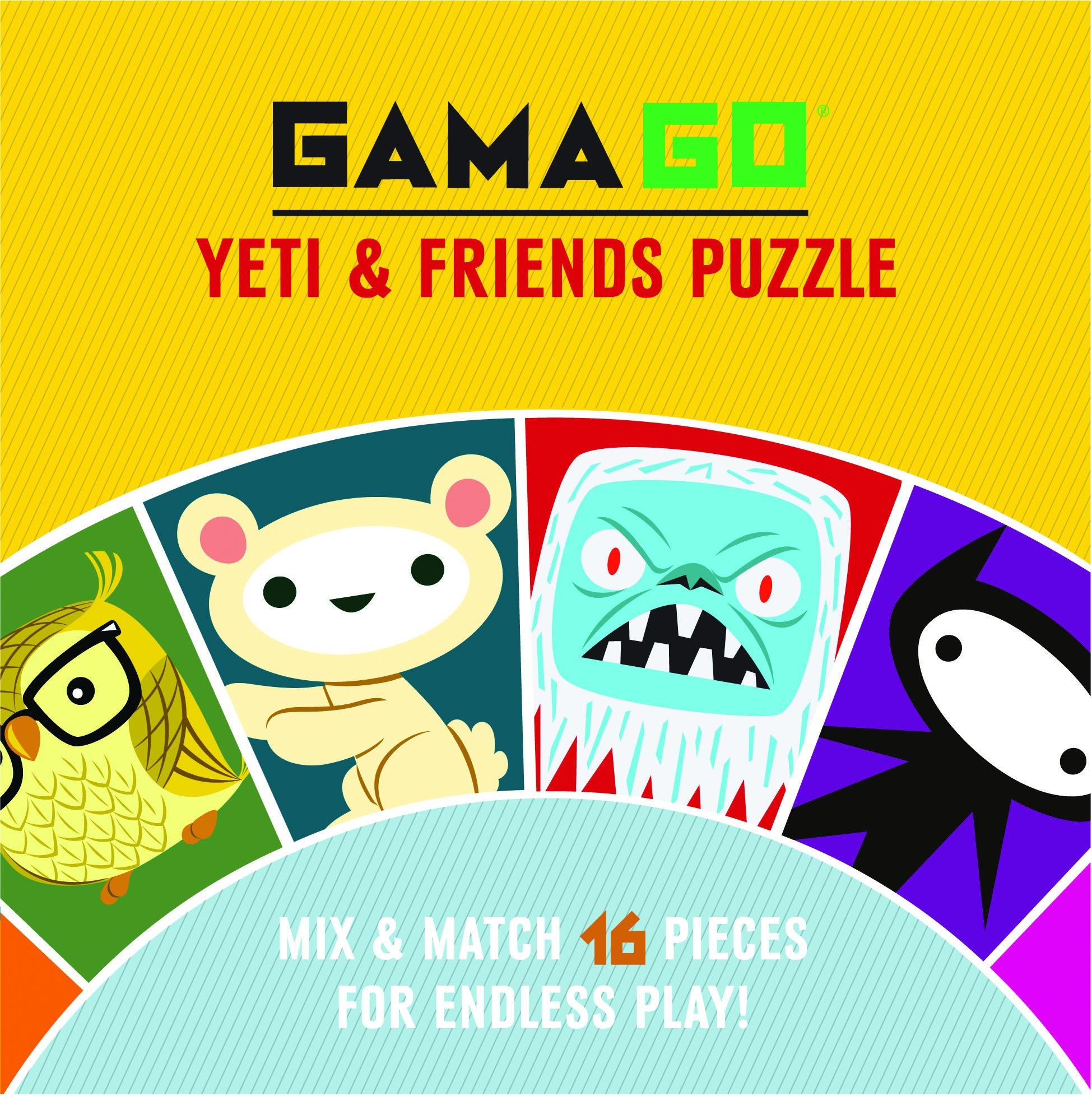 GAMAGO Yeti & Friends Puzzle: GAMAGO: 9781452111605: Amazon ...