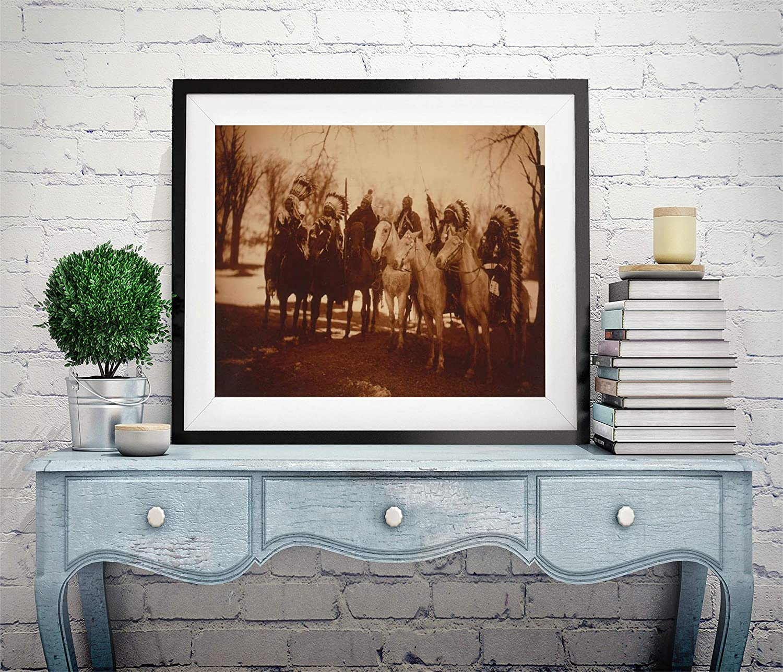 INFINITE PHOTOGRAPHS Photo Chief,Little Plume,Buckskin Charley,Geronimo,Quanah Parker,Hllow Horn Bear,c1900