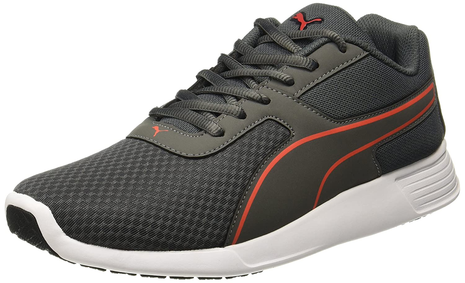 Puma Men s KOR Idp Dark Shadow-Quiet Shade-Cherry Tomato Sneakers - 6  UK India (39 EU)(36777103)  Buy Online at Low Prices in India - Amazon.in f9d05606c