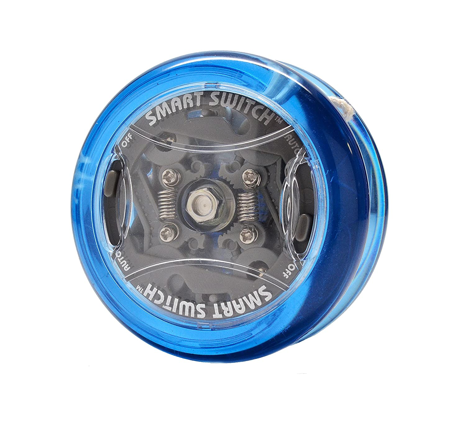 Yomega Power Brain XP yoyo with Synchronized Clutch and Smart Switch enables Players to Switch Between auto-Return and Manual Styles of Play