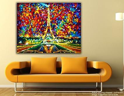 Tamatina Canvas Painting - Paris Love - Leonid Afremov - Palette ...