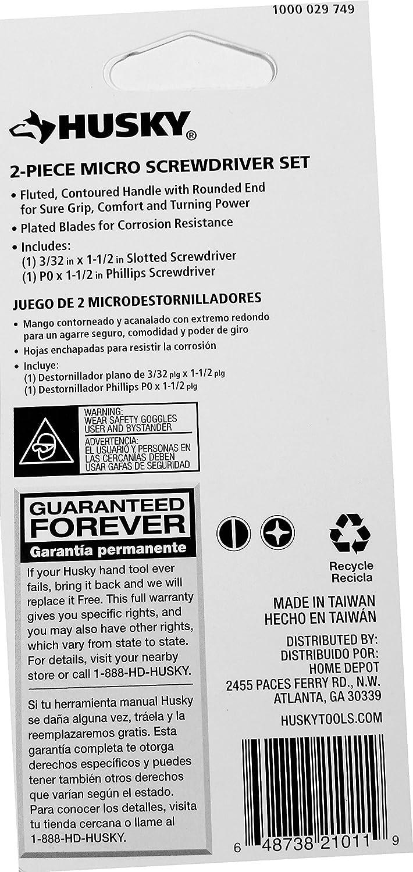 Husky 2-piece Micro Screwdriver Set - - Amazon.com