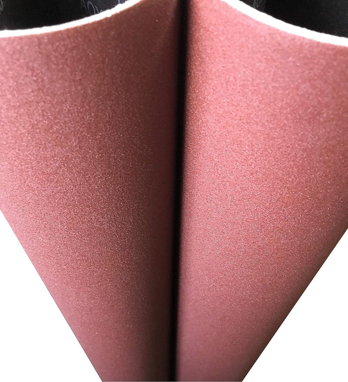 Pack of 20 Aluminum Oxide VSM 63187 Abrasive Belt Cloth Backing 24 Length 1//2 Width 1//2 Width 24 Length VSM Abrasives Co. Fine Grade 150 Grit Brown