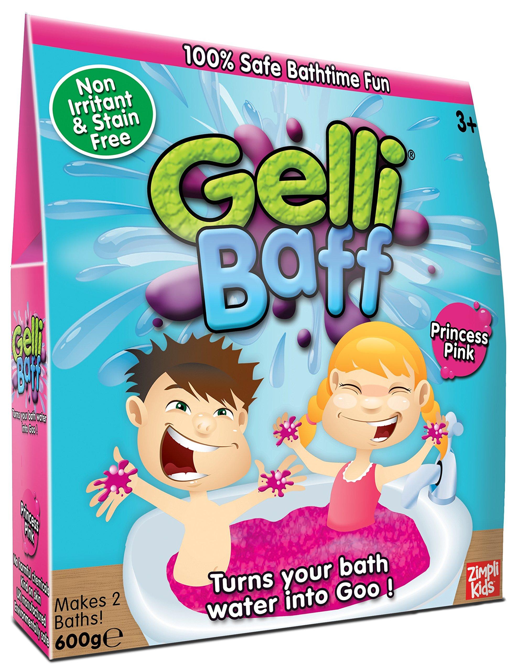 Zimpli Kids Pink Gel Bath Gelli Baff 2-Use 600G Box