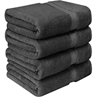 Utopia Towels 700 GSM Luxury Cotton Bath Towels (4 Pack, 27 x 54 Inch)