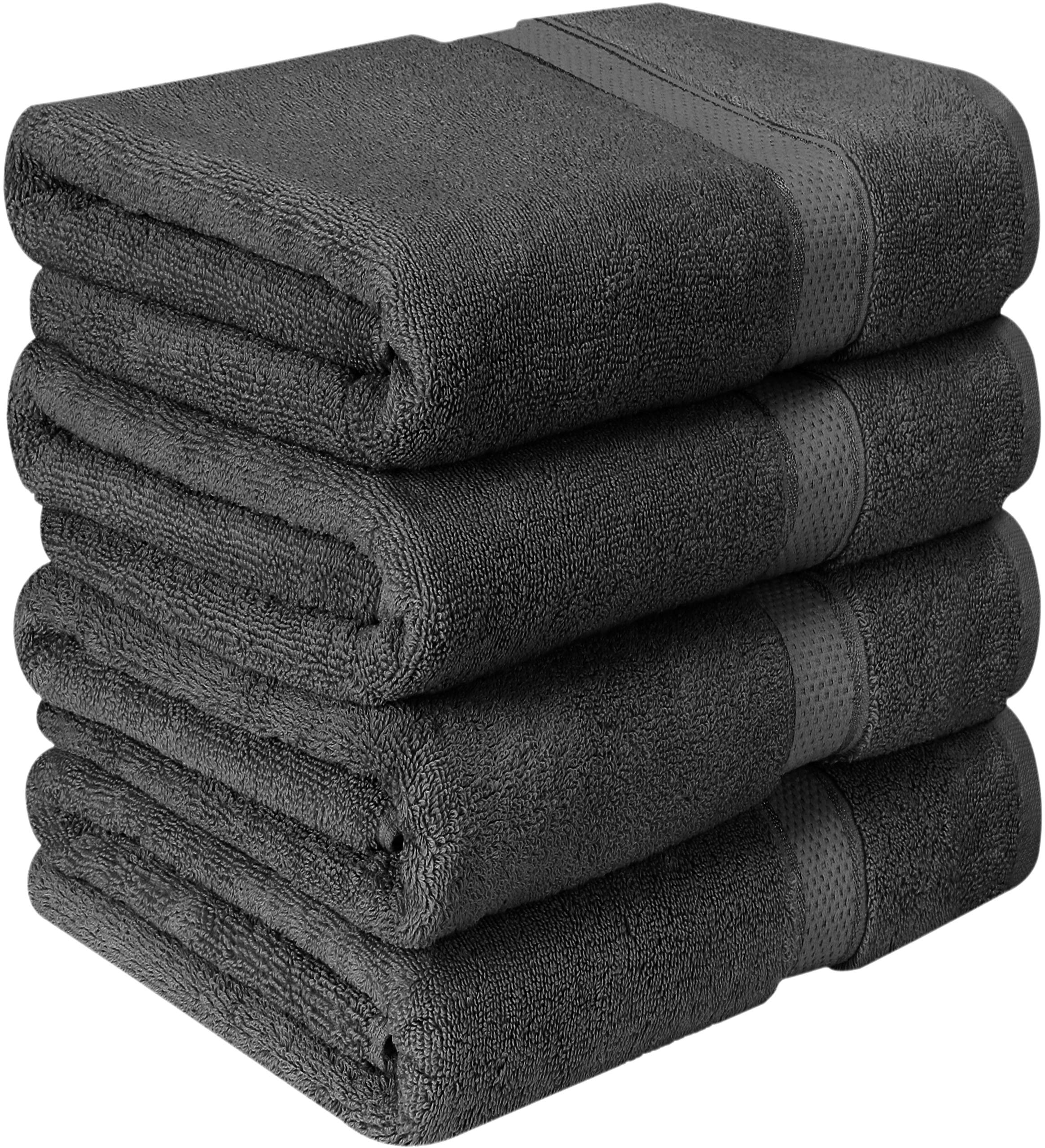 Utopia Towels - conjunto de toallas de baño (Paquete de 4, 69 x 137