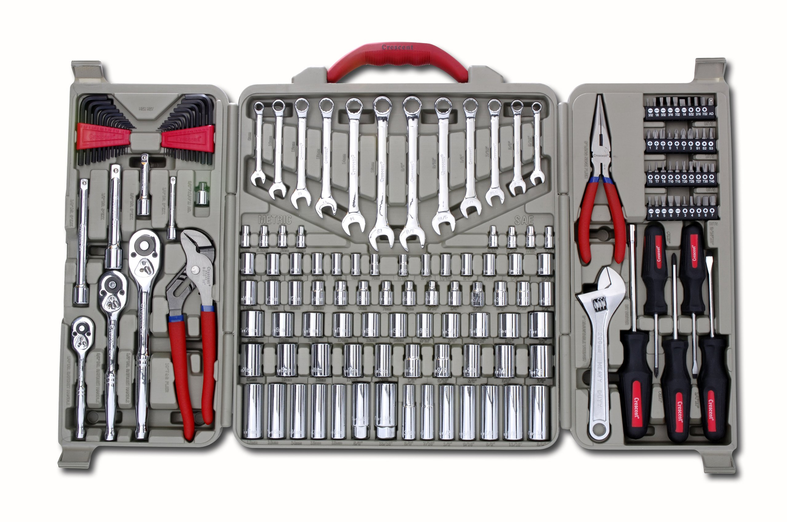 Crescent 170-Piece Mechanics Tool Set [Discontinued by Manufacturer] by Apex Tool Group