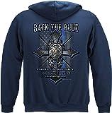 Thin Blue Line T Shirt - Law Enforcement Gear for Men - Law Enforcement - FF2402