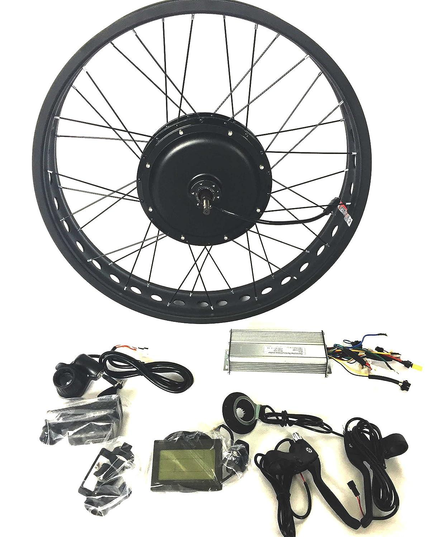 48V1000W 電動自転車変換キットギ Electric Bike Conversion Kit 4.0 Fat Rim + LCD + Tire Theebikemotor B01MY80JKM 26