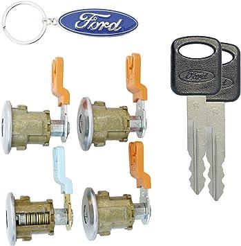 Amazon Com Ford Econoline Van E150 E250 E350 Four 4 Door Lock Set With New Keys For Cargo Or Passenger Van Automotive