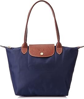 5b575e7b2951a Amazon.com  Longchamp Le Pliage Long Handle Tote Bag Large Bubble ...