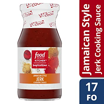 Food Network Kitchen Inspirations Jamaican Style Jerk Cooking Sauce 15 Oz Bottle