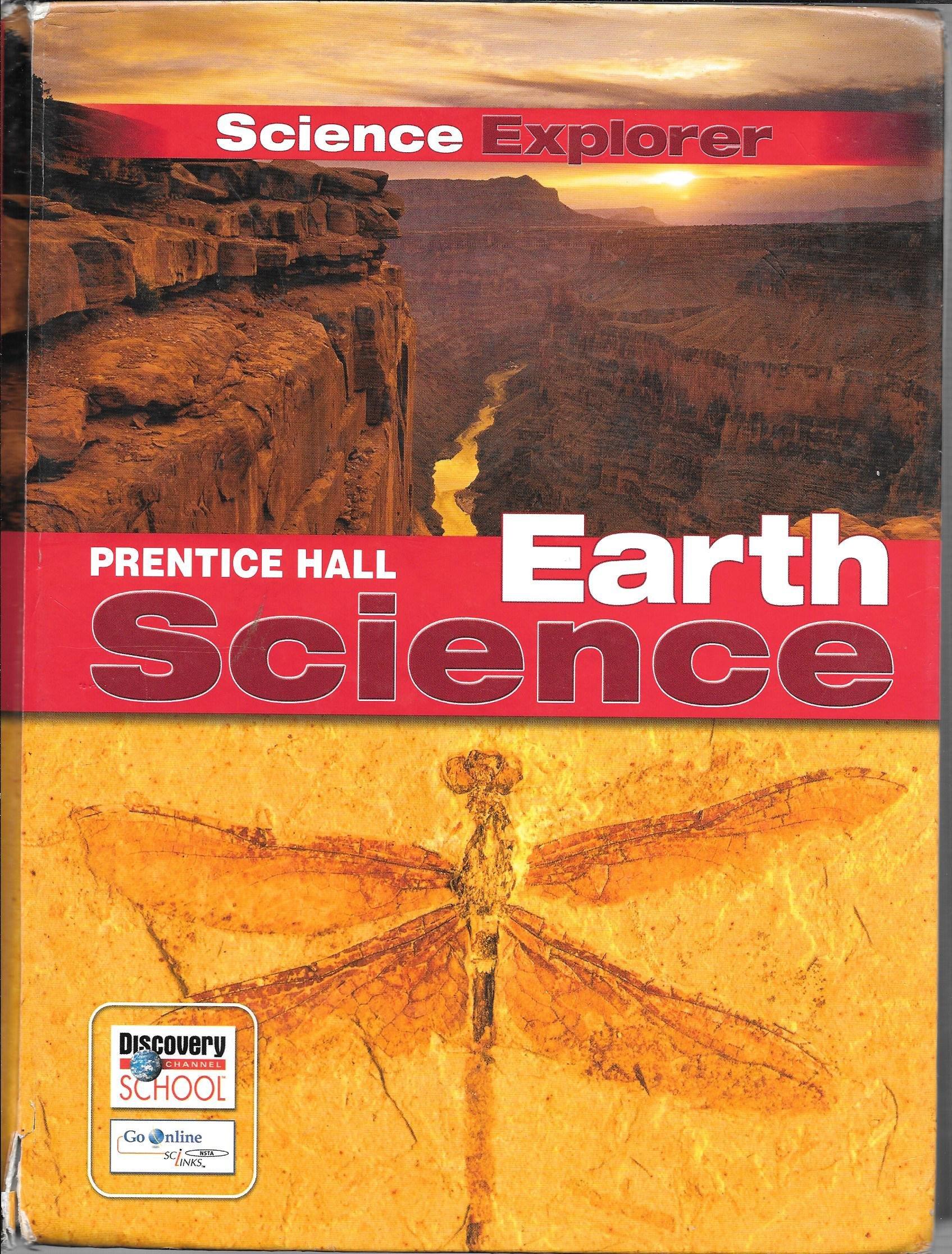 PRENTICE HALL SCIENCE EXPLORER EARTH SCIENCE STUDENT EDITION 2005