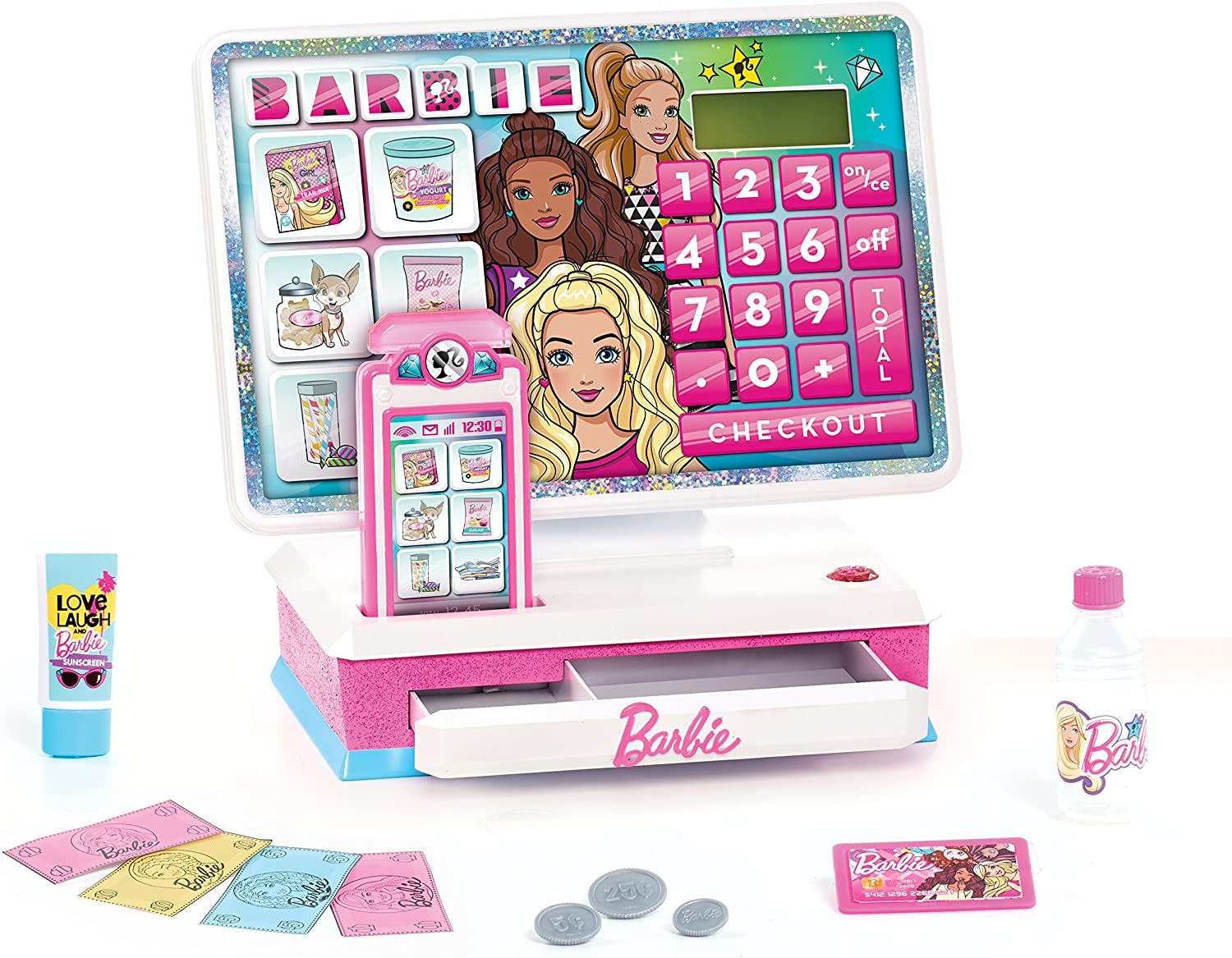 Barbie Large Cash Register! Down to .46 at Amazon!