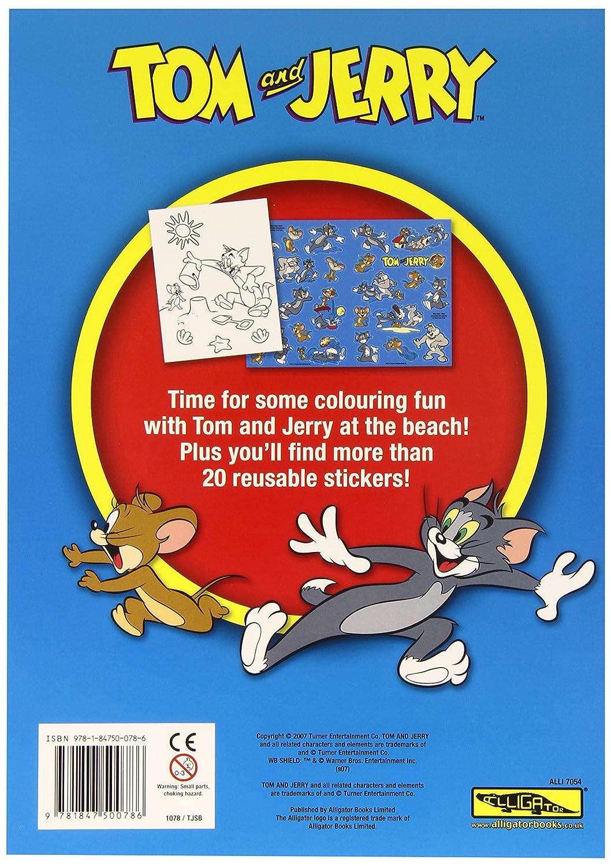 Tom Und Jerry - Libro para colorear Tom Y Jerry (Downtown ...