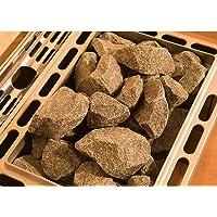 Weka Diabas–Piedras para Sauna, Gris, 35x 43x 9.5cm