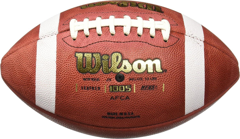 Wilson NCAA 1003 GST Color marr/ón Bal/ón de f/útbol Americano