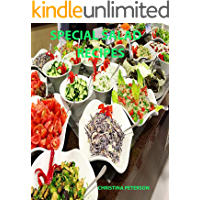 Special Salad Recipes: Every pagehas space for notes:, Include the following: Ethnic, Eggs, Cottage Cheese, Macaroni, Ceasar, Pasta and more (English Edition)