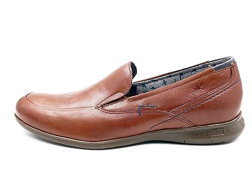 Fluchos Zapato Hombre Tipo Mocasín, Color libano con Elásticos Laterales - 9762-81C1: Amazon.es: Zapatos y complementos