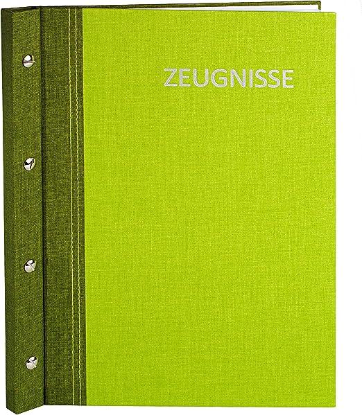 Zeugnismappe mit Name // Zeugnisringbuch Gravur