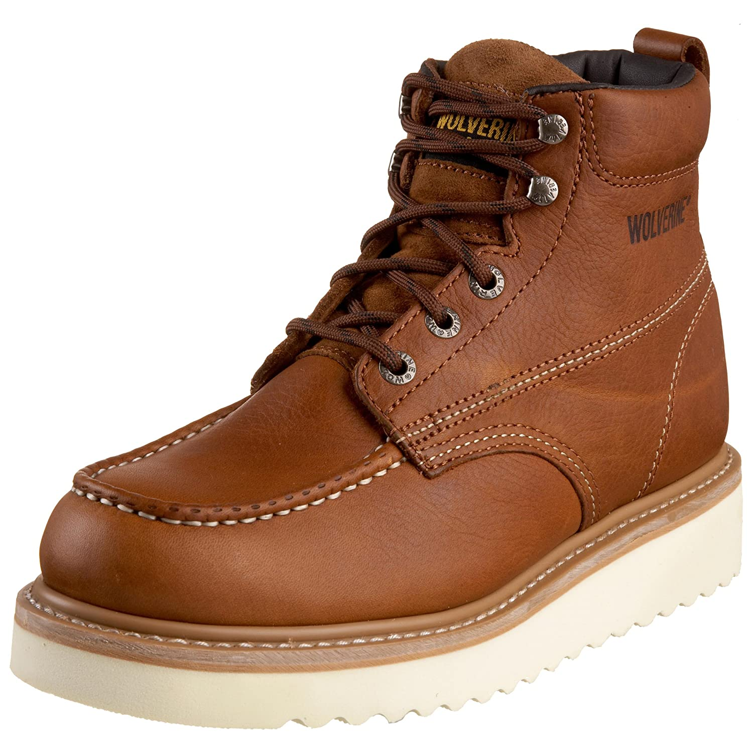 Amazon.com | Wolverine Men&39s Moc-Toe 6&quot Work Boot | Industrial