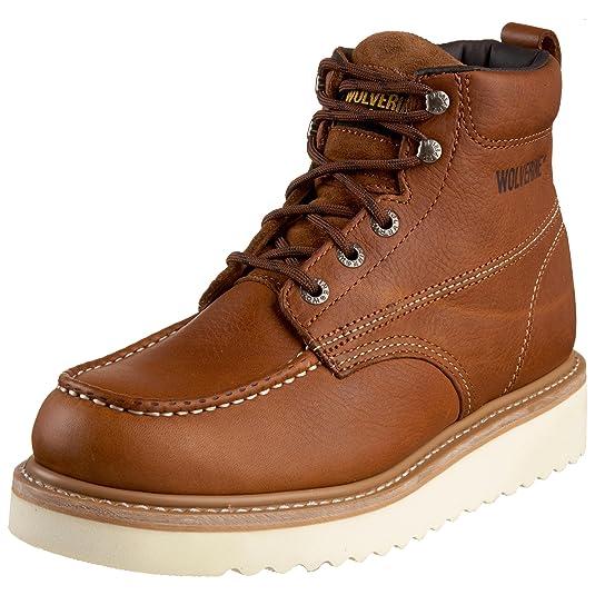 Wolverine - Calzado de protección para Hombre Marrón marrón: Amazon.es: Zapatos y complementos