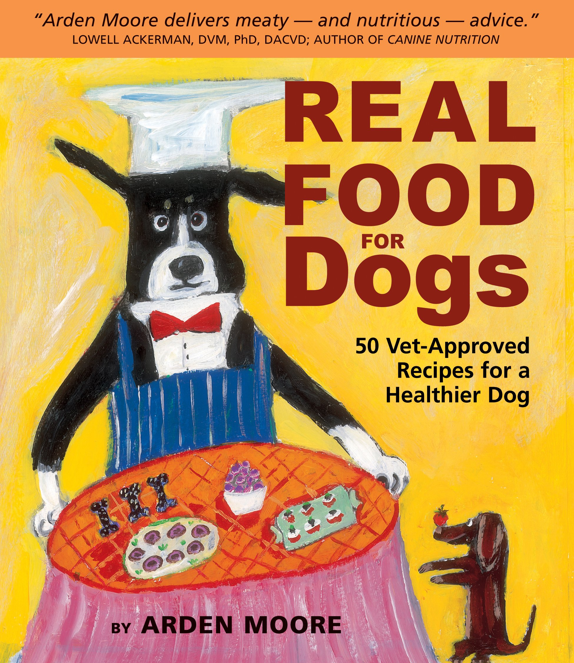 Real food for dogs 50 vet approved recipes for a healthier dog real food for dogs 50 vet approved recipes for a healthier dog arden moore anne davis 9781580174244 amazon books forumfinder Gallery