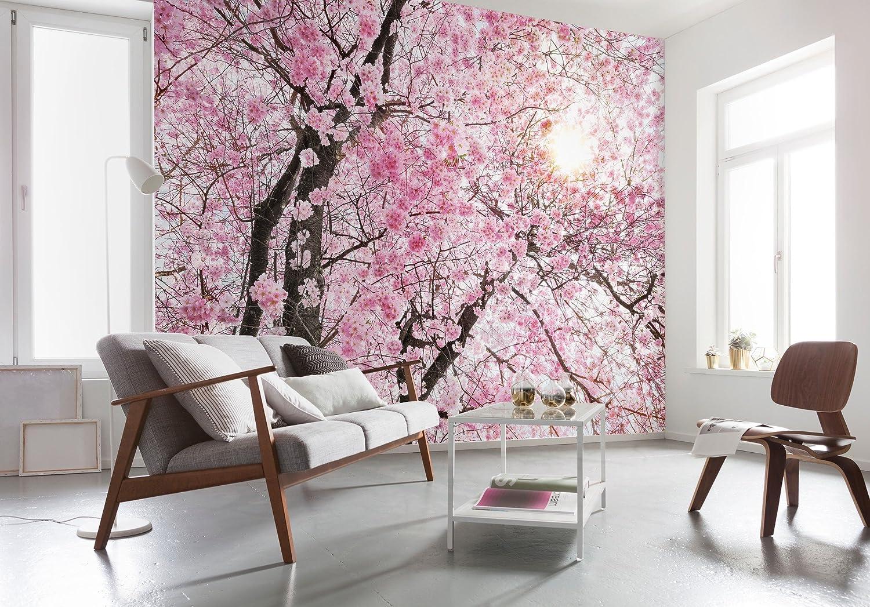 Cherry Blossom Flowers Photo Wallpaper Wall Mural Fleece EasyInstall Paper