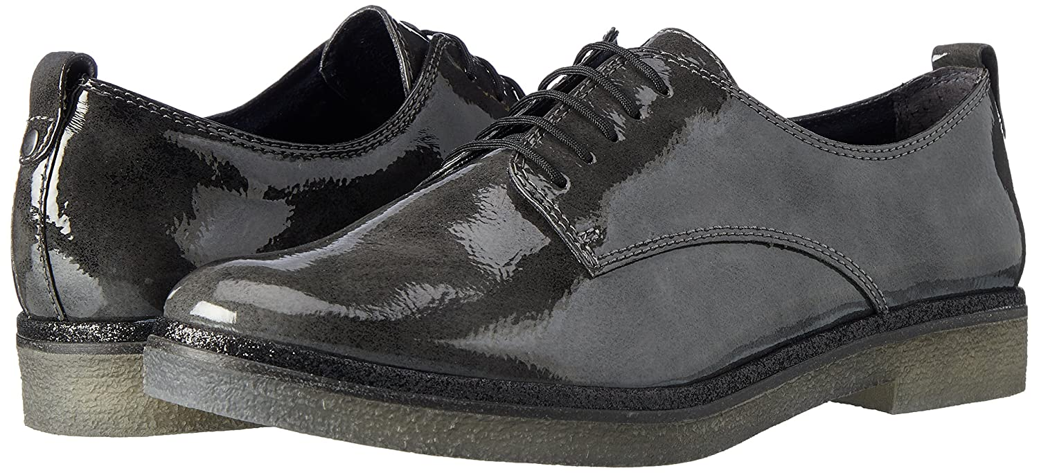 Tamaris Damen 23710 23710 Damen Oxfords Grau (Anthracite) ea207d
