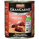Animonda Gran Carno Hundefutter Sensitive Adult Reines Rind, 6er Pack