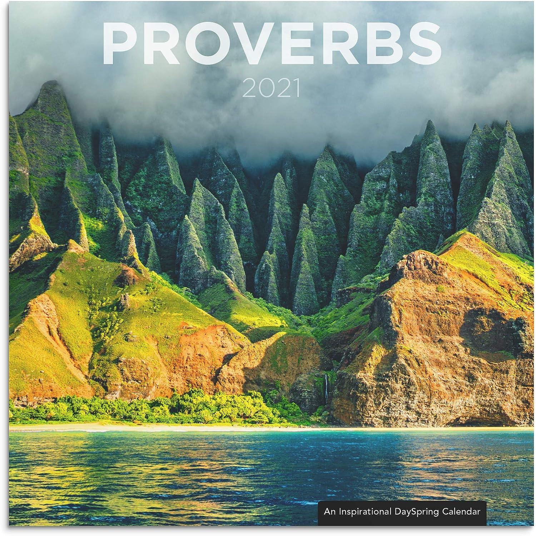 DaySpring Proverbs - 2021 Inspirational Christian Wall Calendar
