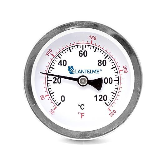 2 opinioni per Termometro analogico in ottone resistente fino a 120 C°