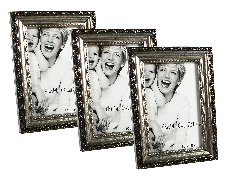 Amazon.de: com-four® Bilderrahmen Fotorahmen - Stilvoller Rahmen für ...